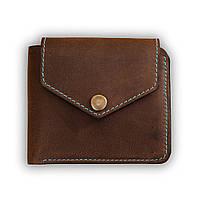 Бумажник на кнопке BlankNote 4.2 (Орех - Тифани)