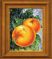 """Рисунок - схема для вышивания бисером """"Сочные апельсины"""""""