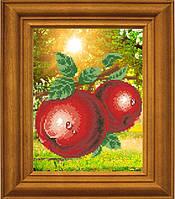 """Рисунок - схема для вышивания бисером """"Ароматные яблоки"""""""
