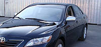 Накладки на зеркала (нерж.) Toyota Camry V40