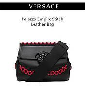 Palazzo Empire Stitch Leather Bag – новая модель в линейке женских сумочек Versace
