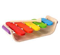 """Деревянная игрушка """"Овальный ксилофон"""", Plan Toys"""