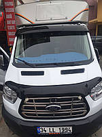 Ford Transit 2014 Козырек на лобовое стекло на кронштейнах