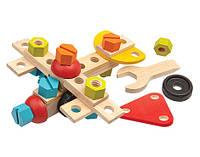 """Деревянная игрушка """"Конструктор 40 деталей"""", PlanToys"""