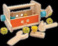 """Деревянная игрушка """"Набор инструментов робот"""", PlanToys"""