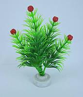Растение для аквариума пластиковое 10 см