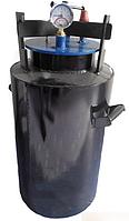 Большой черный газовый автоклав на 35 банок по 0,5 л/на 20 банок по 1 л di