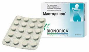 """Бионорика """"Мастодион""""-таблетки при нарушениях  гормонального фона уженщин"""
