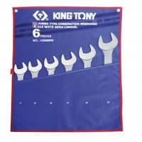 Набор комбинированных ключей (34-50 мм) King Tony 1296MRN 6 предметов