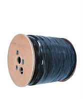 Кабель для внешней прокладки UTP 5е INFOCORD (бух.305м) 4*2*0.50 CCA, на деревянной катушке
