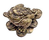 Жаба богатства, под бронзу 7 см.