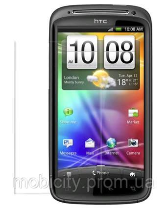 Бронированная защитная пленка для экрана HTC Z710E Sensation 4G