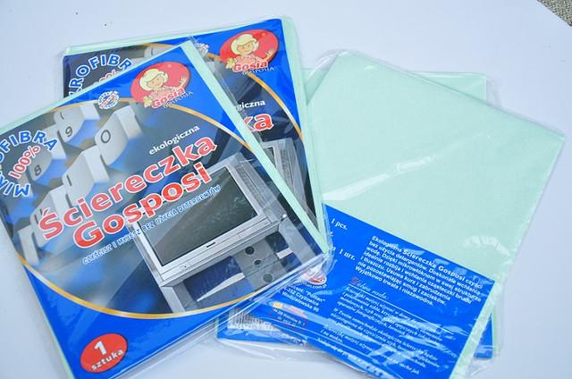 Салфетка микрофибровая для монитора, телевизора, стекла