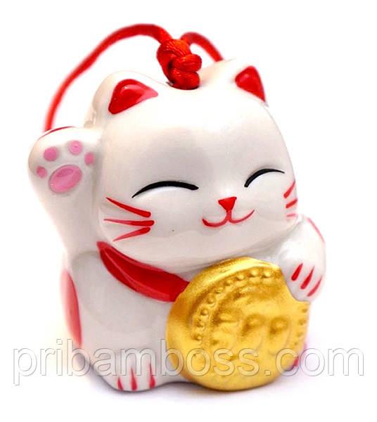 """Дзвіночок """"Щасливий кіт"""" №4"""