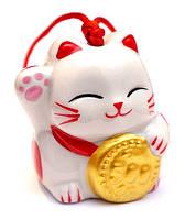 """Колокольчик """"Счастливый кот"""" №4"""