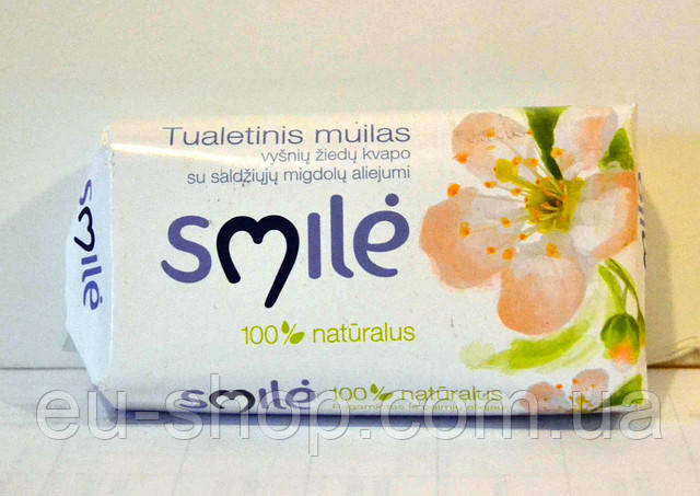 Мило Smilе с ароматом цветка вишни 100г