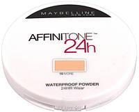 Влагостойкая пудра Maybelline Affinitone 24h Waterproof Powder