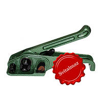 Упаковочная и натяжная машинка для полипропиленовой ленты шириной 16 мм. и 19 мм.