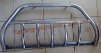 Кенгурятник на ВАЗ 2113-14-15 из нерж. стали (с защитой картера 5 клыков) D42, фото 1