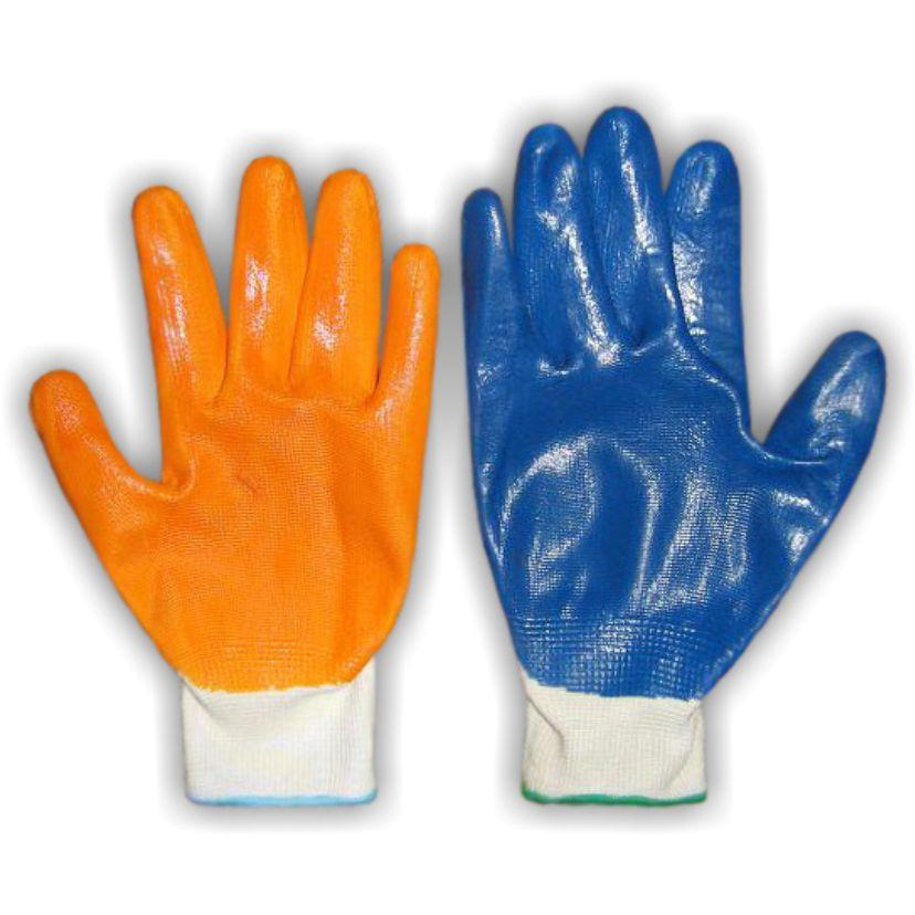 Перчатки с прорезиненной ладонью