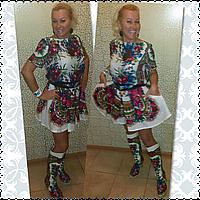 Юбка - шорты  из платка