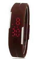 Наручний годинник - браслет Sport unisex brown