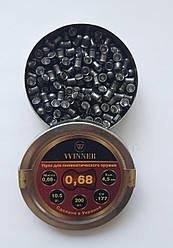 Пули WINNER 0.68 г 200 шт. оптом