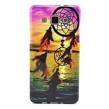Чехол накладка силиконовый TPU для Samsung Galaxy A3 A300 Sunset Dream Catcher