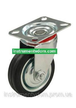 Колесо 520075 с поворотным кронштейном (диаметр 75 мм)