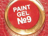 Гель краска для ногтей  SP 009 классический красный