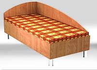 Кровать №1 2036х936х850мм (без матраса)