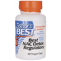 Регулятор детоксикации - НАК (N-Ацетил-L-Цистеин) / NAC (N-Acetyl-L-Cysteine), 600 мг 60 капсул