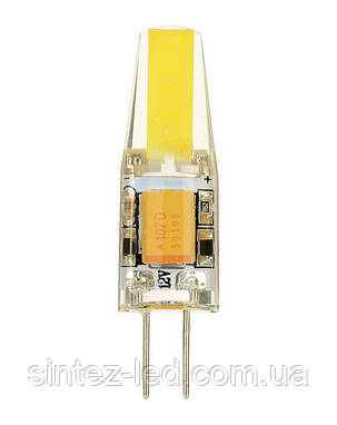 Світлодіодна лампа Biom G4 3.5 W 4500К 220V в силіконі Код.58697, фото 2