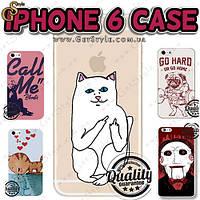 """Чехлы для iPhone 6 - """"iPhone Case"""" + защитное стекло!"""