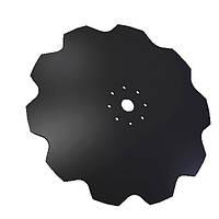 Диск бороны (ромашка) БН, БП (650мм, круг 46мм, 8 отв)