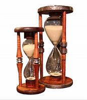 Песочные часы - декор для дома и оригинальный подарок