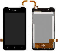 Дисплей (экран) + сенсор (тач скрин) HTC Desire 210 black (оригинал)