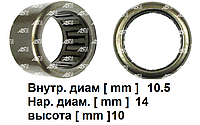 Подшипник стартера для Mercedes-Benz Viano 2.0 cdi. Виано. Игольчатый 10.5х14х10 мм. ABE9065 - AS PL