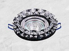 Точечный стеклянный врезной светильник (16-068)