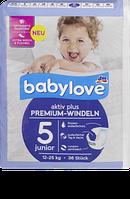 Babylove Windeln Premium aktiv plus Größe 5, junior 12-25kg - Детские подгузники р. 5, 12-25 кг, 36 шт.