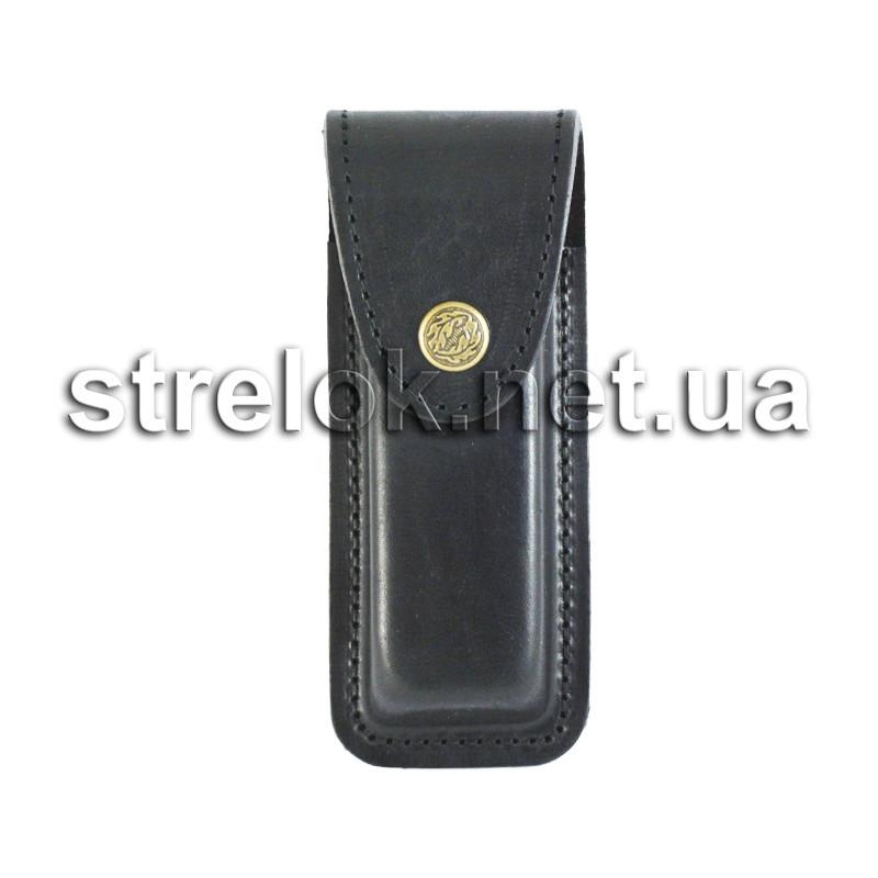 Подсумок кожаный для магазина Форт12 черный