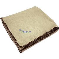 Одеяло Ярослав шерсть/лен в упаковке 205x140 см