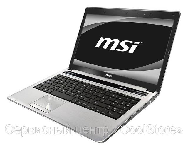 Чистка ноутбуков MSI от пыли в Донецке