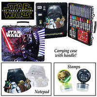 Набор для творчества 138 предметов в чемодане Звёздные Войны Star Wars Deluxe Art Kit из США, фото 1