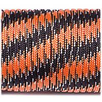Паракорд Type III 550, black orange camo #047