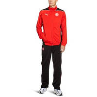 Спортивный костюм подростковый puma Düsseldorf 742871 01 (красный с черным, эластик, для тренировок, пума)