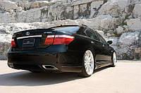 Накладка на задний бампер Lexus LS 460 Wald, фото 1