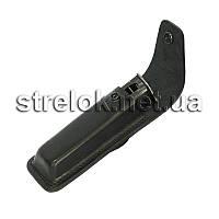 Подсумок кожаный для магазина АПС черный