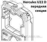 Чугунный твердотопливный котел Viadrus Hercules U22 D 5, фото 5