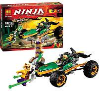 """Конструктор """"Ninjago New"""" """"Тропический багги"""" 187 деталей, фото 1"""